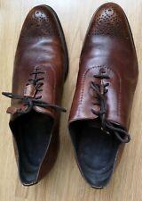 FRATELLI BORGIOLI   Men's  Shoes  leather brown  size EU 41   UK 7