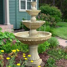 Classic 3-Tier Designer Outdoor Electric Garden Water Fountain