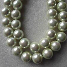 29 round shell poli perles 14mm grade a pour craft et fabrication de bijoux