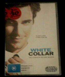 White Collar : Season 2 (DVD, 2012, 4-Disc Set) Brand New Still Sealed Region 4