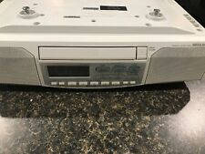 Sony ICF-CD513 Under Cabinet Counter Clock Radio AM FM CD Player Tested .
