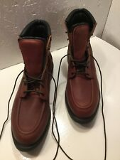 Red Wing Shoes Work Boots Composite Toe Oil Resistant Size 16 D