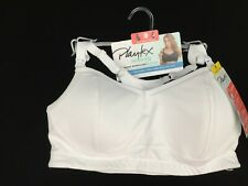 Playtex nursing bra M or 2XL racerback sports wirefree wicking padded NEW