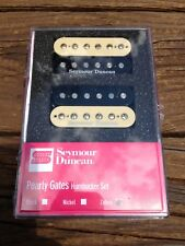 Seymour Duncan Pearly Gates Bridge & Neck Humbucker Pickup Set Zebra 11108-49-Z