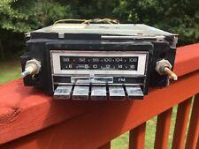 vintage GM DELCO RADIO STEREO AM/FM OEM 16001700 Gm-2700-m1 BUICK CHEVY PONTIAC