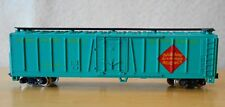 N scale reefer REX Railway Express Agency NIB green AHM Minitrains 4454L
