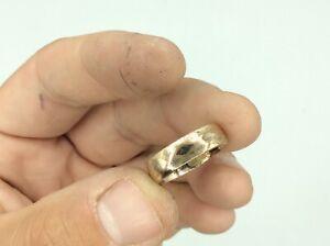Fantastic Antique Vintage 9ct Rolled Gold Band Ring Size N