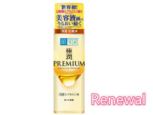 JAPAN ROHTO Hada labo Gokujyun PREMIUM Hyaluronic Acid Super Moist Lotion 170ml