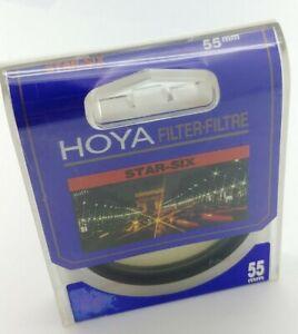 HOYA 55mm STAR SIX six-pointed light flares Lens Filter