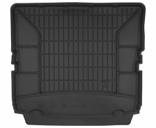 MK A Connected Essentials 5058280 Black with Grey Trim Tailored Custom Fit Heavy Duty Automotive Carpet Mat Boot Liner for Vauxhall Zafira 1998-2005