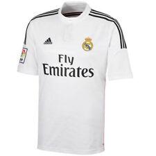 Maillots de football de club étranger blanc manches courtes, taille S