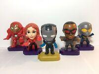 2020 Marvel Studios Heroes Avengers Mcdonald's Toys (Lot of 5)