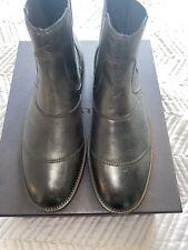Belstaff Mens Lancaster Boots Size 41 Or 7Uk