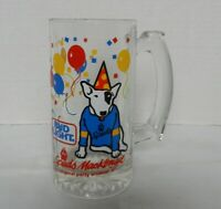 "Bud Light Spuds MacKenzie The Original Party Animal 5 1/2"" Glass Beer Mug"