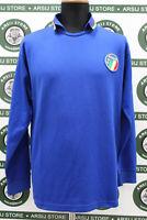 Maglia calcio ITALIA MATCH WORN shirt trikot camiseta maillot jersey