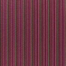 NEW Abraham Moon Carnaby Stripe Brown / Pink.  100% Lambswool Upholstery Fabric