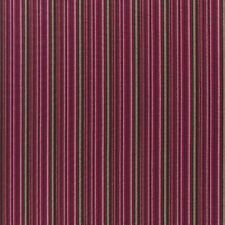 Abraham Moon Carnaby Stripe Brown / Pink. 100 Lambswool Upholstery Fabric