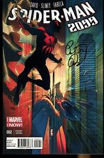 Spider-Man 2099 #2 1:25 Pasqual Ferry Variant Signed By Peter David Marvel NM+