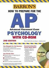 How to Prepare for the AP Psychology with CD-ROM (Barron's AP Psychology Exam