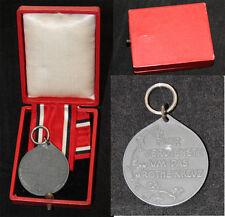 Original medalla Prusia cruz roja medalla 3. clase con cinta en caja
