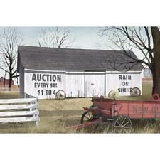 Billy Jacobs Auction Barn Country  Art Print 16 x 12