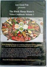 The Black Sheep Bistro's Video Cookbook Volume 1 DVD Just Good Fun New/Sealed