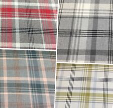 Porter and Stone MELROSE, Thick ,Strong Tartan/Check Upholstery/Curtain Fabric