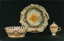 Biscuit Dish Bowl Cup -Soviet Postcard 1970-Russian Porcelain-Accepting Offer