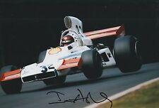 Ian Ashley Hand Signed 12x8 Photo Formula 1 F1 1.