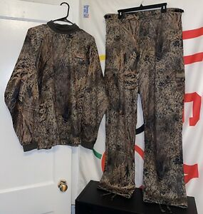 Scent-Lok Pants Large and Jacket/Shirt XL Camo Hunting Mossy Oak Camouflage