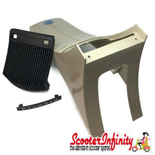 Horn Cover uncoated (grill, badge, emblem) (Vespa T5, Vespa PX80-200/`98/MY)