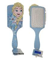 Disney Frozen II Hair Brush Elsa Cute Women's Girls Paddle Blue 3D Comb Primark