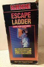 Two Story Fire Escape 13 Feet Ladder~Kidde~Fits Most Standard Size Windows Nib