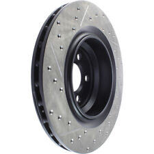 Disc Brake Rotor-Sport Drilled/Slotted Disc Rear Left STOPTECH 127.63064L
