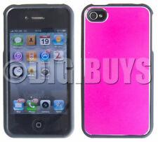 Fundas y carcasas color principal rosa de metal para teléfonos móviles y PDAs