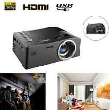 Proyectores de Home Cinema LED FULL 1080p proyector USB AV TF SD HDMI portátil