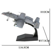 1:100 Scale A-10 Attack Diecast Army Model Plane & Dispaly Stand Home Decor