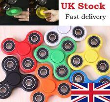 New Tri Fidget Finger Spinner Hand Focus Ultimate Spin Steel EDC Anti Stress Toy