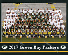 2017 GREEN BAY PACKERS 8X10 TEAM PHOTO PICTURE