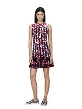 552ee5ac96cc5 PETER PILOTTO Sleeveless Floral Print and Striped Dress Size XS TP