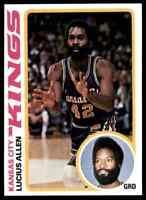 1978-79 TOPPS BASKETBALL SET BREAK LUCIUS ALLEN KANSAS CITY KINGS #6