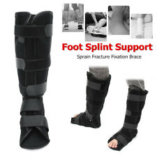Foot Drop Ankle Night Splint Brace Orthosis Fracture Sprain Recovery Support