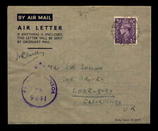 1944 British Cmf Censor Cover to England - L5408