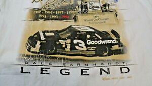 Dale Earnhardt Legend Medium Tee Shirt 1994 Winston Cup 1994 Champion NASCAR