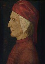 Dante Alighieri - Gentile Bellini - Venetian Master Painting