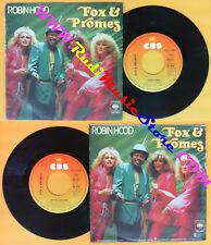 LP 45 7'' FOX & PROMES Robin hood Mr. reggae-man 1979 germany CBS * no cd mc dvd