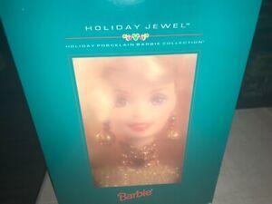 Vintage Holiday Jewel Mattel Barbie:Holiday Porcelain Barbie Collection