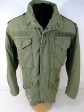 post-Vietnam US Army M65 OG-107 Combat Field Coat Jacket - Size Sm/Reg - NICE #2