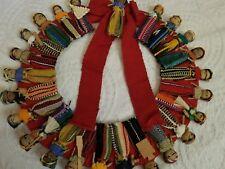 "Vintage 12"" Mexican Folk Handmade Wreath"