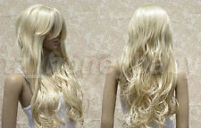 FIXSF326 this year sexy long blonde curly hair wigs for women wig